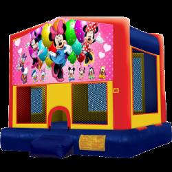 Minnie Mouse Modular Bounce House