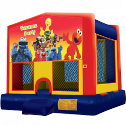 Sesame Street Modular Bounce House