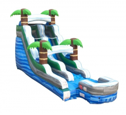 Rapid Waters 15' Water Slide