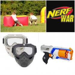 Nerf wars up to 16 players