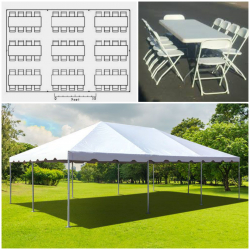 Tent Package up to 64 Guests