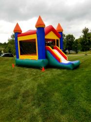 Slide Bounce House DRY Combo