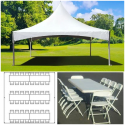 Tent Package up to 48 Guests