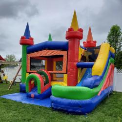 Modular Rainbow Castle Combo DRY or WET