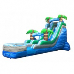 The Big Kahuna 22' Tropical Single Lane Water Slide