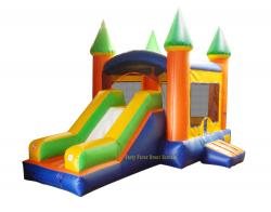 Bounce House Slide DRY Combo