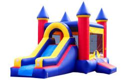 Bounce House Slide DRY Combo The Popular 2
