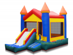 Slide Bounce House DRY Combo