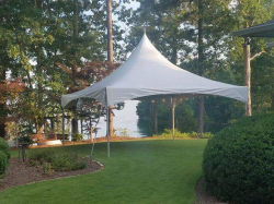 20X20 High Peak Tent White