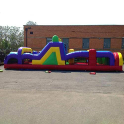 40' Retro Obstacle Course