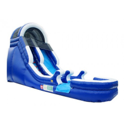 15' Blue Wave Slide (Wet/Dry)