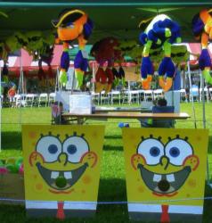 Sponge Bobs Ball Toss
