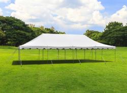 20 x 40 Pole Tent With Setup