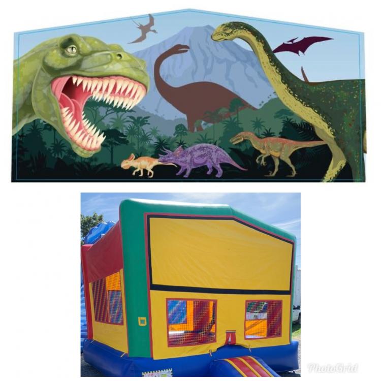 Dinosaur Theme Modular Bounce