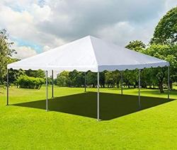 20 x 20 Frame Tent With Setup