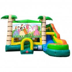 Princess Theme Tropical Bounce Combo