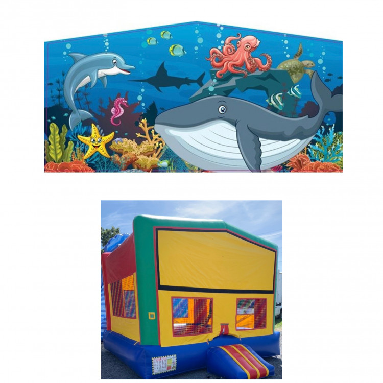 Under the sea Theme Modular Bounce