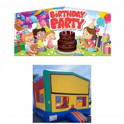 Happy Birthday Theme Modular Bounce