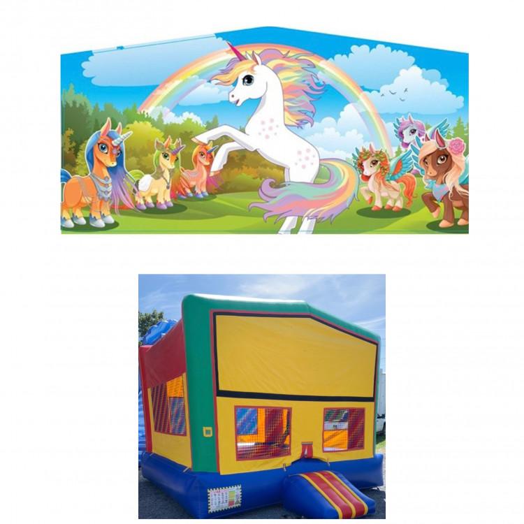 Unicorn Theme Modular Bounce