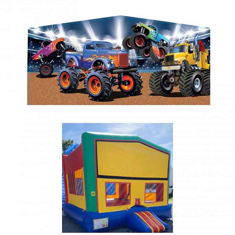 Monster Truck Theme Modular Bounce