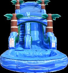 DSC 3748 1619015608 Blue Hurricane Water Slide - 18ft