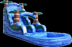 DSC 3762 1619015607 Blue Hurricane Water Slide - 18ft