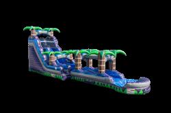 Purple Crush Water Slide 18 ft. with Slip & Slide