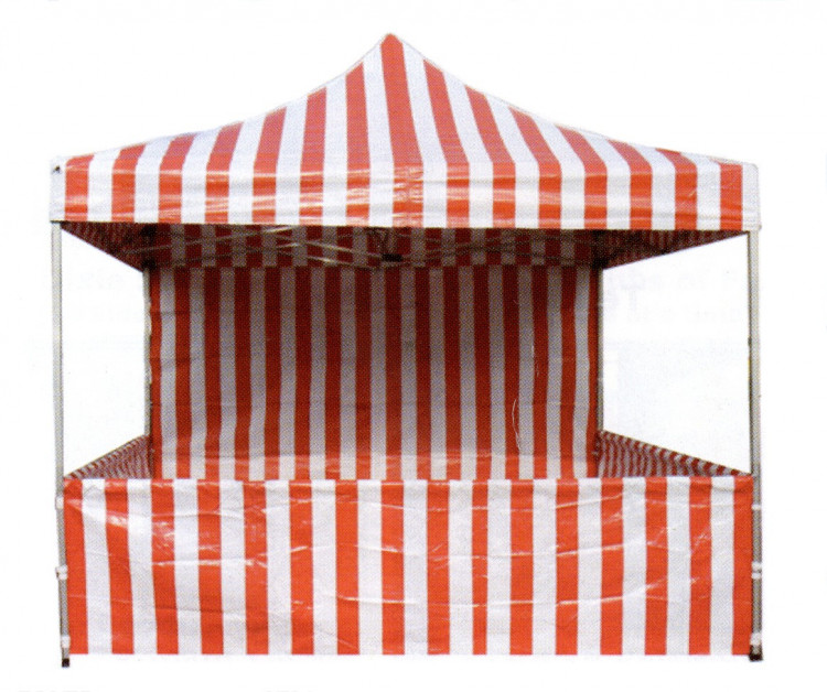 Red and White Tent
