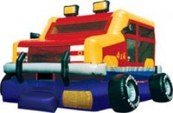 Monster Truck Bouncehouse