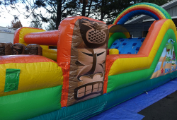 50' Tiki Island Obstacle Course (Wet/Dry)