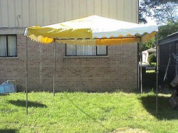 10 x 10 Pole Tent Rental