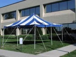 16 x 16 Pole Tent Rental