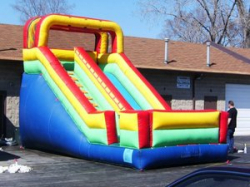 17ft Dry Slide Rental