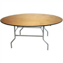 6 ft. Round Table Rental