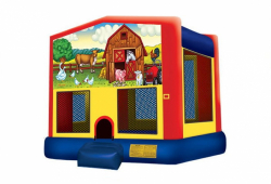 Animal Farm Moonbounce Rental