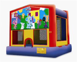 Blues Clues Moonbounce Rental