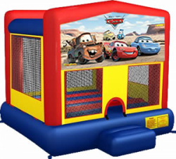 Disney Cars Moonbounce Rental