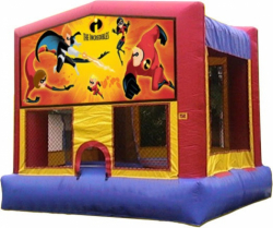Disney Incredibles Moonbounce Rental
