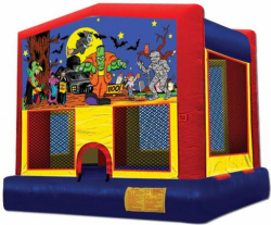 Halloween Theme Moonwalk Rental
