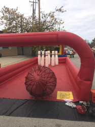 Human Bowling Inflatable Game Rental