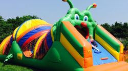 Katie The Caterpillar Obstacle Course Moonbounce Rental