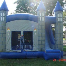 Medieval Castle 4 in 1 Combo Moonbounce Rental