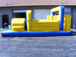 Obstacle Course Moonwalk Small Rental