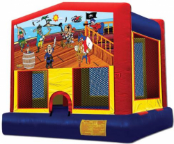 Pirate Theme Bounce House Rental