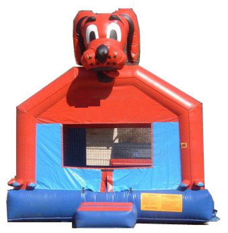 Peachy Red Dog Bounce House Rental Chicago Inflatables Home Interior And Landscaping Spoatsignezvosmurscom