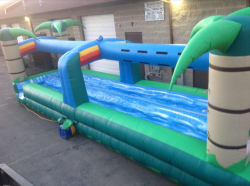Slip n Slide Tropical Double Lane Rental