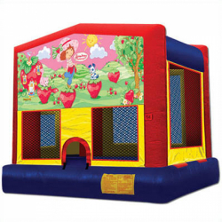 Strawberry Shortcake Moonbounce Rental