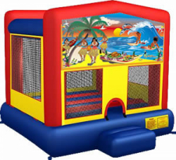Tropical Paradise Moonbounce Rental