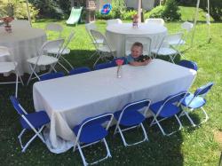 6 Ft adjustable kids table