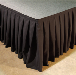 13' Stage Skirt (Black)
